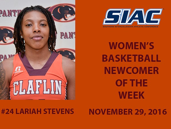 newest 76f97 e54bd Stevens Selected SIAC Women's Basketball Newcomer of the ...